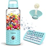 PopBabies Personl Blender, Smoothie Blender for Single Served, USB Rechargeable Portable Blender for Shakes and Smoothies, St