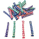Bulk 200 Pack Chinese Finger Trap Assortment - Fun Gag Puzzles for All Ages
