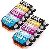 エプソン カメ インク EPSON KAM-6CL-L インクカートリッジ 互換 6色セット 2セット合計12個 増量版 対応機種 EP-882AW EP-882AB EP-882AR EP-881AW EP-881AB EP-881AR EP-88