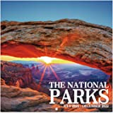 """2021-2022 Calendar - National Parks, 2021-2022 Monthly Square Wall Calendar with Thick Paper, January 2021 - June 2022, 12"""" x"""