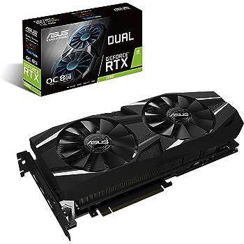 ASUS NVIDIA GeForce RTX 2080搭載  GDDR6 SDRAM 8GB ビデオカードDUAL-RTX2080-O8G