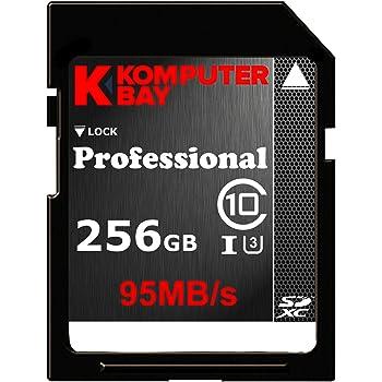 Komputerbay SDXCカード 256GB UHS-I U3対応 (最大読込速度95MB/s,最大書込速度60MB/s) U3シリーズ 4K動画撮影 無期限保証