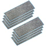 Extolife 8 Pack Washable and Reusable Wet Mopping Pads for iRobot Braava Jet m6 (6110) Ultimate Robot Mop