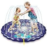 Splash pad, 68'' Baby Pool, Water mat for Kids Outdoor, Kids Sprinkler Water mat, Sprinkle Play Mat, Sprinkler for Kids, Wadi