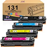 HaloFox Compatible Toner Cartridge Replacement for Canon 131 imageClass MF624Cw MF628Cw MF8230Cn MF8280Cw LBP7100Cn for HP 13