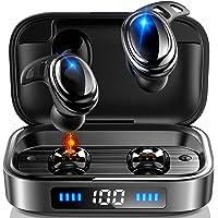 【2020年 Bluetooth5.0 瞬時接続】 Bluetooth イヤホン IPX8完全防水 ワイヤレスイヤホン…