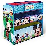 【Amazon.co.jp 限定】デルタ Delta ディズニーミッキーマウス おもちゃ収納ラック TB84847MM