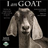 2022 I Am Goat Wall Calendar: Animal Portrait Photography and Wisdom from Nature's Philosophers