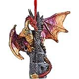 Design Toscano QS291250 Zanzibar, The Gothic Dragon 2012 Holiday Ornament