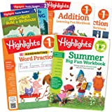 Highlights Summer Learning Pack First Grade to Second Grade Workbooks, Leveled Readers, Handwriting Practice