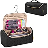 YARWO Travel Case Compatible with Dyson Airwrap Complete Styler and Attachments, Portable Storage Bag with Hanging Hook for H