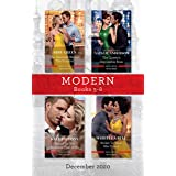 Modern Box Set 5-8 Dec 2020/The Innocent Behind the Scandal/The Queen's Impossible Boss/Bound as His Business-Deal Bride/Stol