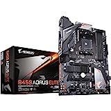 GIGABYTE B450 AORUS ELITE ATX ゲーミングマザーボード [AMD B450チップセット搭載] MB4624