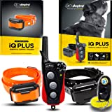 Dogtra IQ Plus+ Two Dog Remote Training System - 400 Yard Range, Waterproof, Rechargeable, Shock, Vibration - Includes PetsTE