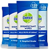 Dettol Antibacterial Disinfectant Wipes 480 (4 x 120 pack)