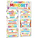 Sproutbrite Classroom Decoration Banner Poster Pack - Growth Mindset Wall Display