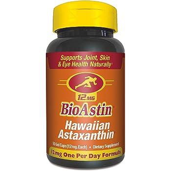 海外直送品Nutrex BioAstin (Astaxanthin), 60 Caps (Pack of 4)