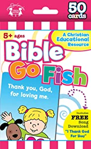 Bible Go Fish: 50-count Game Cards