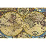 Meryi Map Jigsaw Puzzles for Adults 1000 Piece, Adult Children Intellective Educational Toy DIY Collectibles Modern Home Deco