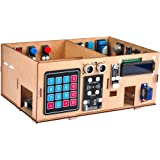 OSOYOO Smart Home IoT Learning Kit with MEGA2560 for Arduino, Wooden House Model, DIY IoT Programming
