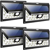 LITOM 24 LED Solar Lights Outdoor, 3 Optional Modes Wireless Motion Sensor Light with 270° Wide Angle, IP65 Waterproof, Easy-