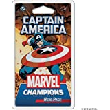 Fantasy Flight Games FFGMC04EN Captain America Hero Pack