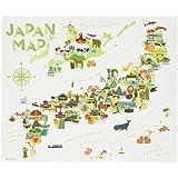 TABI CLOTH メガネ拭き ジャパンマップ 5212001JM