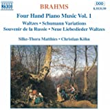 Brahms: Four-Hand Piano Music, Vol. 1