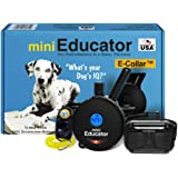 Educator - ET-300 Black - Ecollar Dog Training Collar with Remote Control - 1/2 Mile Range, Waterproof, Rechargeable, 100 Tra