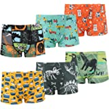 MooMoo Baby 2 Packs Waterproof Cloth Diaper Pants Potty Training Diaper Shorts Incontinence Bedwetting Pants for Baby Boys an