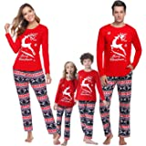 iClosam Family Matching Pajamas Set Casual Pajamas Holiday Pjs for Women/Men/Boys/Girls