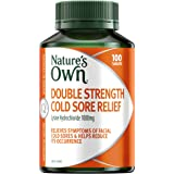 Nature's Own Double Strength Cold Sore Relief - Relieves symptoms and helps reduce occurrence of facial cold sores, 100 Table
