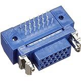 本多通信工業 MRシリーズ MR-20RFA+ 取り付け付きパネル用半田付けタイプ 雌 20芯 販売単位 5個