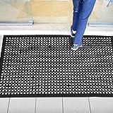 "Rubber Door Mat Anti-Fatigue Floor Mat for Kitchen 36"" x 60"" New Commerical Heavy Duty Mat for Resturant Non-Slip Bar Floor M"