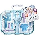 Frozen 2 Elsa's Hair Twirler Vanity Accessory Set - Twist and Twirl Hair to Create Fun Hairstyles Easy Hair Design Braiding T