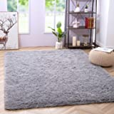 Noahas Super Soft Modern Shag Area Rugs Fluffy Living Room Carpet Comfy Bedroom Home Decorate Floor Kids Playing Mat 4 Feet b