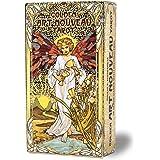 タロットカード 78枚 タロット占い 【ゴールデン アールヌーボー タロット Golden Art Nouveau Tarot 】日本語解説書付き [正規品]