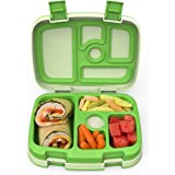 Bentgo Kids Childrens Lunch Box - Bento-Styled Lunch Solution Offers Durable, Leak-Proof, On-the-Go Meal and Snack Packing (G