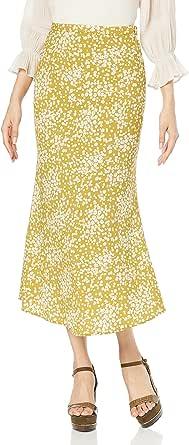[ミラオーウェン] ハリ感バイアスベンツナロースカート 09WFS214301 レディース