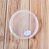 みのる陶器(Minorutouki) ノンラップ蓋 白 直径13.5cm 3個入