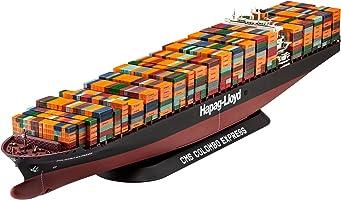 ドイツレベル 1/700 コンテナ船 コロンボ エキスプレス プラモデル 05152
