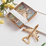 A Team Products Airplane Beer Bottle Opener Party Favor Wedding Birthday Gift Box (Airplane)