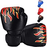 DTOWER Mini Boxing Gloves for Training, Sparring, Kickboxing & Fighting, Kids Boxing Gloves for Punching Bag Training Youth T
