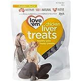 Love 'Em Chicken Liver Treats 200g, Small/Medium/Large, Puppy/Adult