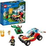 LEGO City Forest Fire 60247 Firefighter Toy, Cool Building Toy for Kids, New 2020 (84 Pieces)