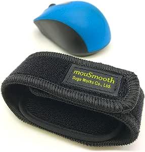 Suga Works 【 mouSmooth 】 超軽量リストバンド型リストレスト マウスだこ 腱鞘炎予防 疲労低減 マウスパッド