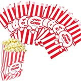 Poppy's Carnival Style Popcorn Bags - 1 oz Concession Grade Paper Popcorn Bags (200 Bags)