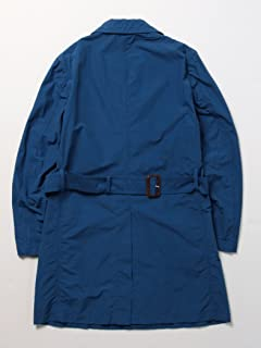 Single Breasted Trench Coat 51-19-0149-565: Blue