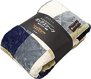 mofua(モフア)ボックス型敷きパッド プレミアムマイクロファイバーボックスシーツ 敷きパッド一体型 Heatwarm発熱 +2℃ タイプ 1年間品質保証 クィーン 160×200cm チェック柄グリーン 601404C9