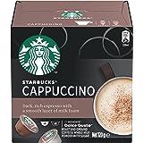 STARBUCKS by NESCAFÉ DOLCE GUSTO Cappuccino Coffee Capsules Box of 6 Servings